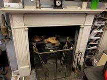 Antique Hob Grate only (surround sold)