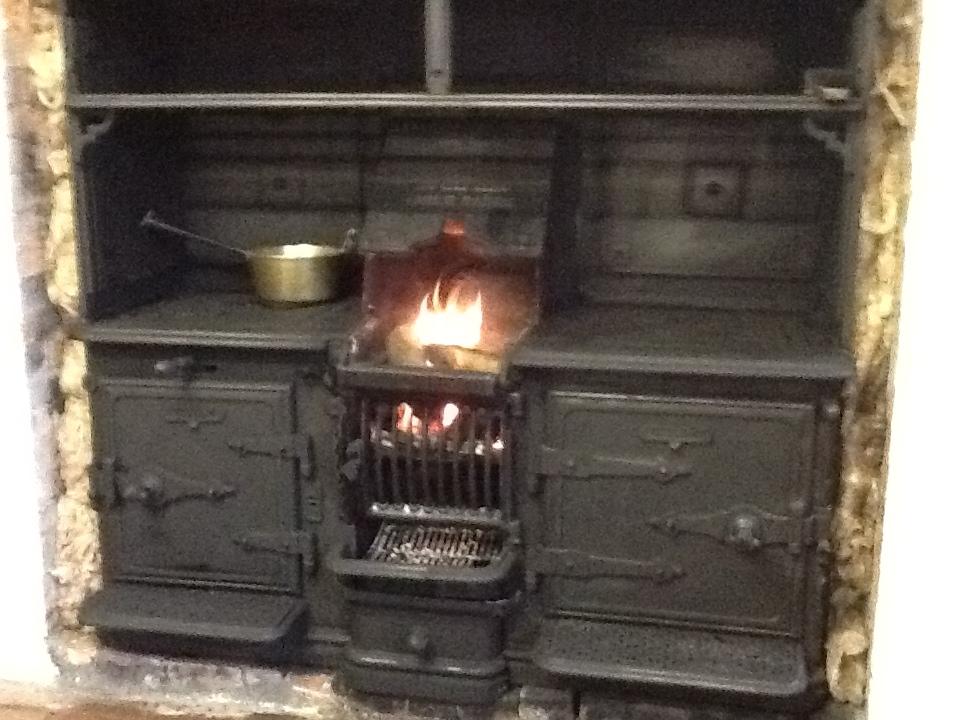 Victorian Cast Iron Kitchen Ranges, Edwardian Kitchen ...