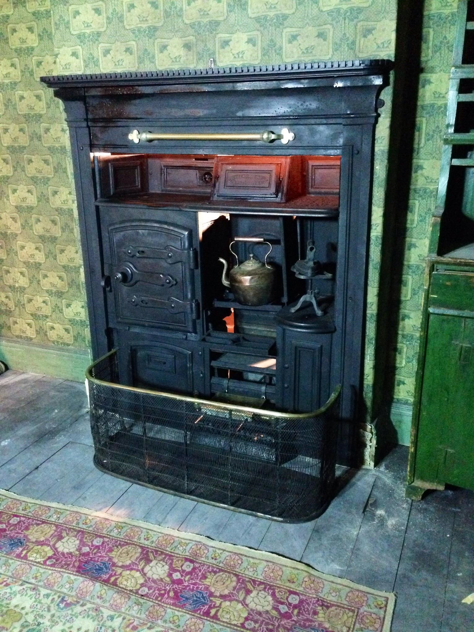Victorian Cast Iron Kitchen Ranges Edwardian Kitchen